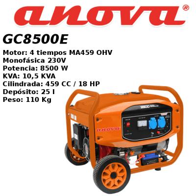 Generador electrico Anova GC8500E