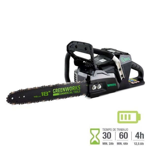 Motosierra Batería Greenworks GC82CS 82V