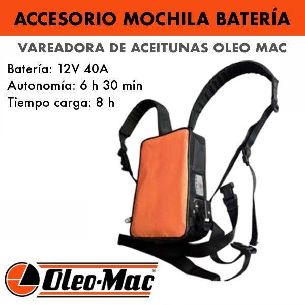 Accesorio mochila batería