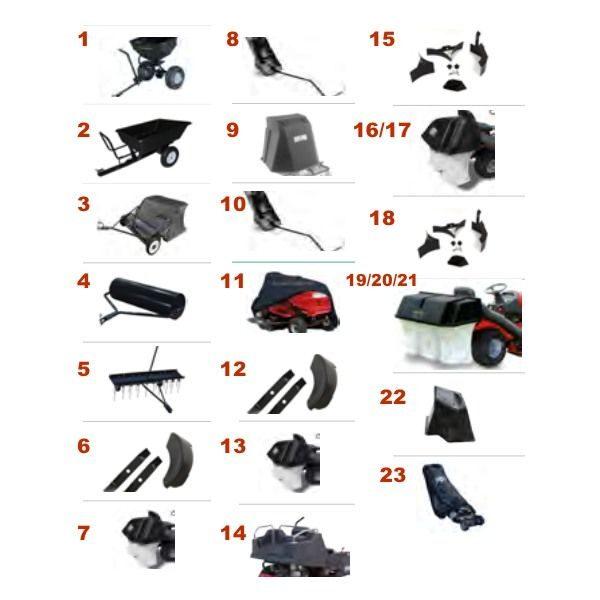 accesorios tractor