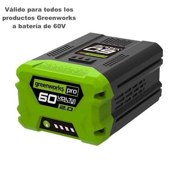 bateria 2ah greenworks g60b2