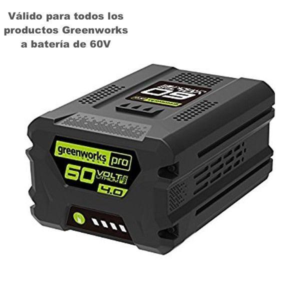 bateria 4ah greenworks g60b4