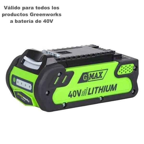 bateria greenworks 2Ah g40b2