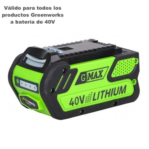 bateria greenworks 4Ah g40b4
