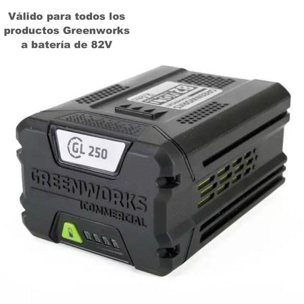 bateria greenworks 82v 2.5 ah gc82b25