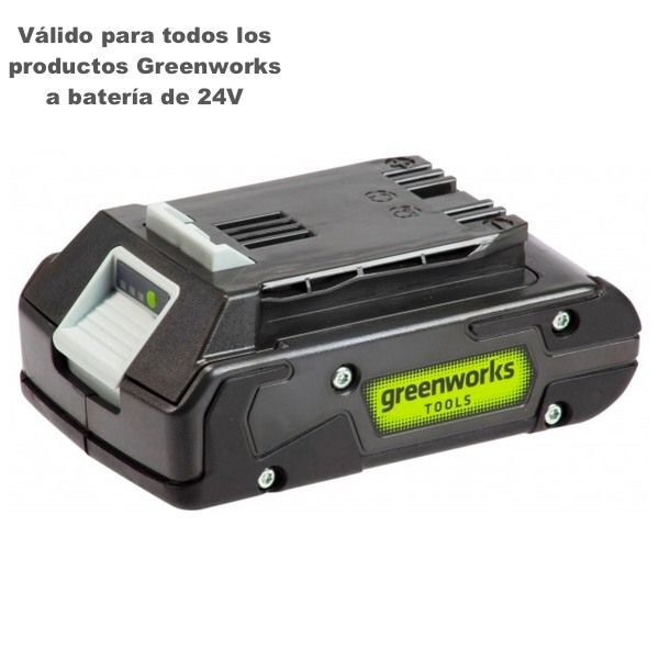 bateria greenworks g24b2 2ah greenworks