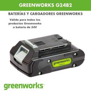 Batería greenworks G24B2