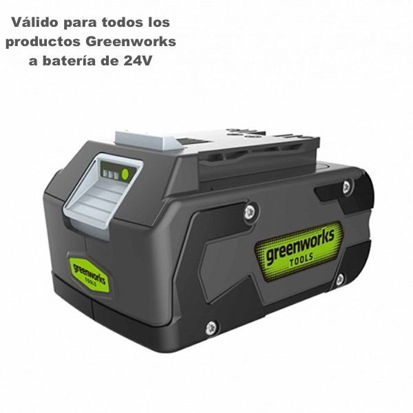bateria greenworks g24b4 4ah greenworks