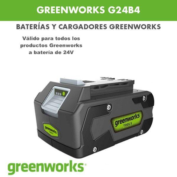 Batería greenworks G24B4