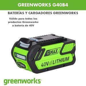 batería Greenworks G40B4