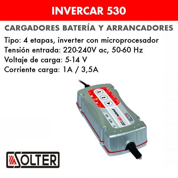 Cargadores de bateria invercar 530