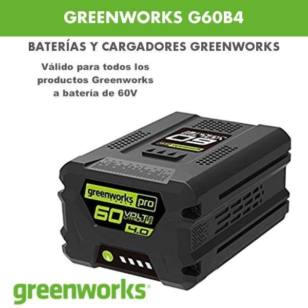 Bateria greenworks G60B4