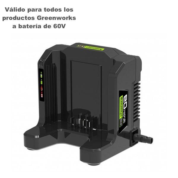 cargador universal greenworks g60uc