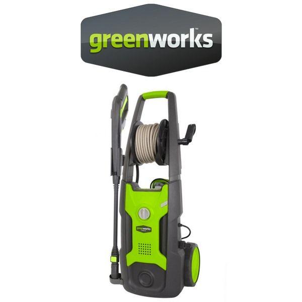 Hidrolimpiadoras Greenworks Bateria