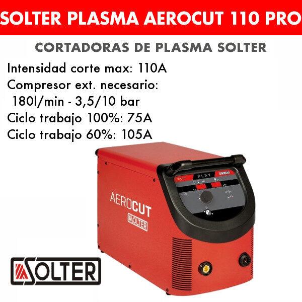 Cortadora de plasma Solter Aerocut 110