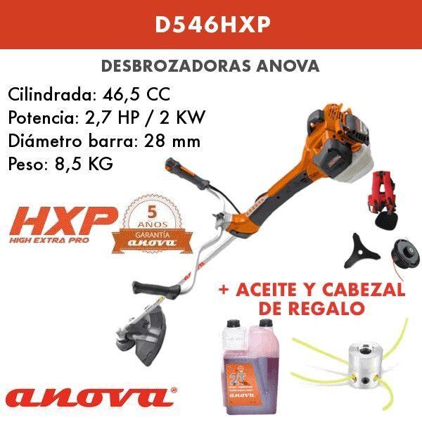 Desbrozadora Anova D546HXP