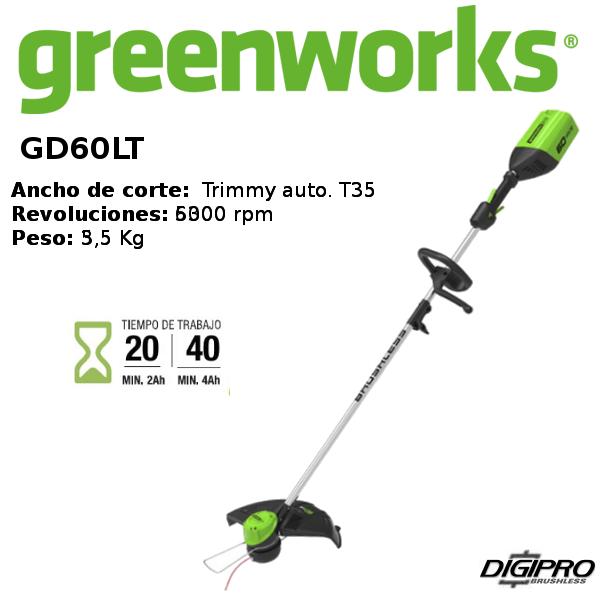 desbrozadora-greenworks- GD60LT