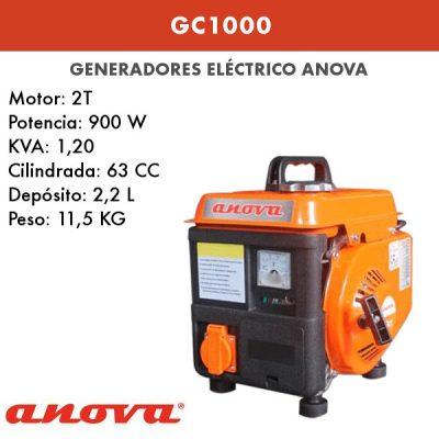 Generador electrico Anova GC1000 formato maleta