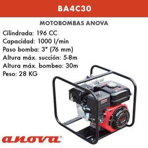 Motobomba Anova BA4C30
