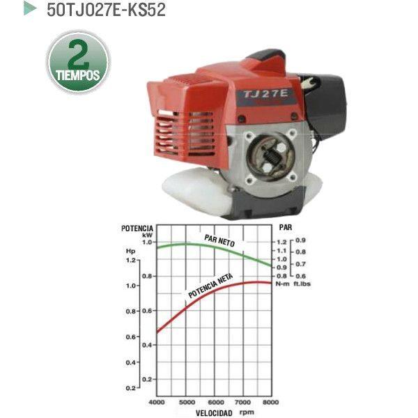 Motor Kawasaki 50TJ027E-KS52 para desbrozadora