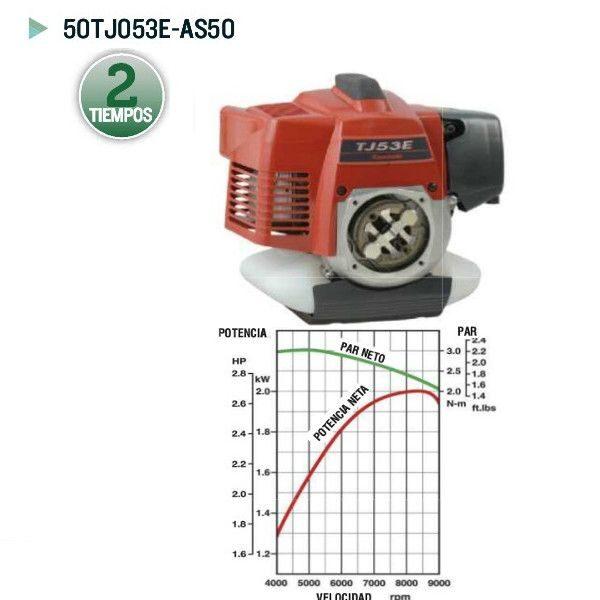 Motor Kawasaki 50TJ053E-AS50 para desbrozadora