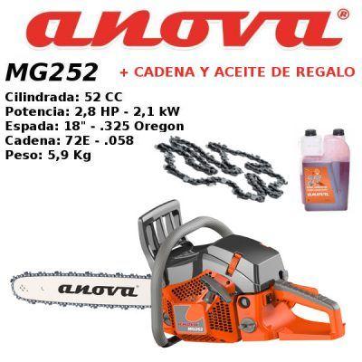 Motosierra Anova MG252