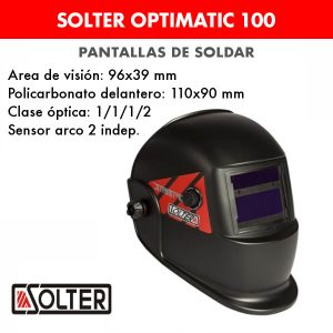 Pantalla de soldar Solter Optimatic 100
