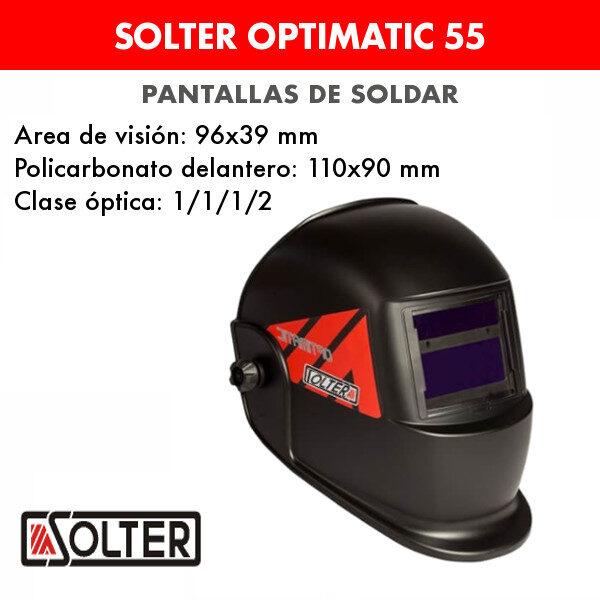 Pantalla de soldar Solter Optimatic 55