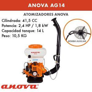 Pulverizadora Anova AG14