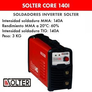 Soldador inverter Solter Core 140i