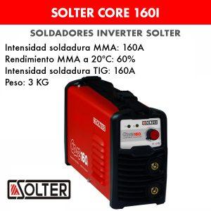 Soldador inverter Solter Core 160i