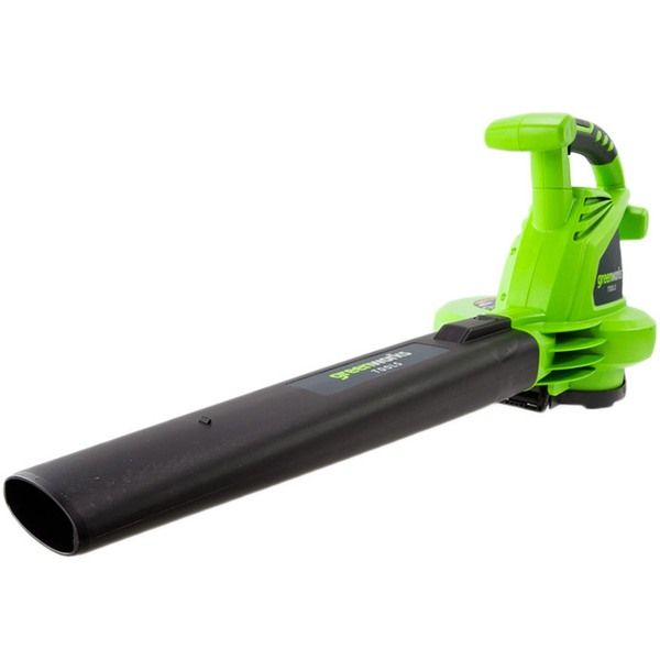 Soplador el ctrico greenworks gbv2800 intermaquinas online - Soplador de hojas electrico ...