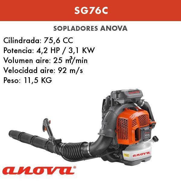 Soplador Anova SG76C