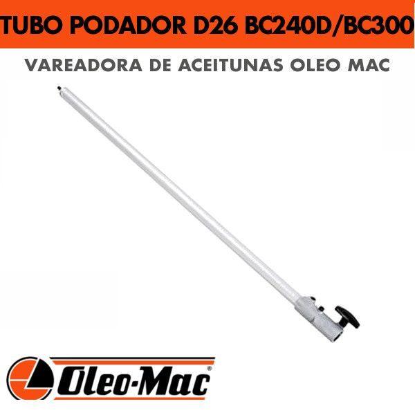 Tubo para podador 75 Cm D26 para BC240 y BC300