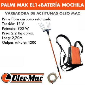Vareadora Palmi MaK EL1 con bateria mochila