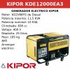 Generador Eléctrico KDE12000EA3 de Diesel