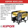 Generador Eléctrico KDE12EA de Diesel
