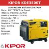 Generador Eléctrico KDE3500T de Diesel