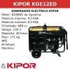 Generador Eléctrico KGE12ED de gasolina