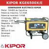 Generador Eléctrico KGE6500X de gasolina