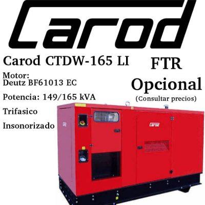 Generador-electrico-Carod-CTDW-165-LI