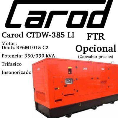 Generador-electrico-Carod-CTDW-385-LI