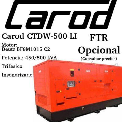 Generador-electrico-Carod-CTDW-500-LI