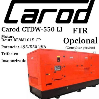 Generador-electrico-Carod-CTDW-550-LI