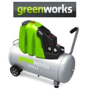 Compresores de aire Greenworks