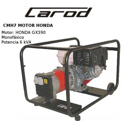 Generador electrico carod cmh7 honda
