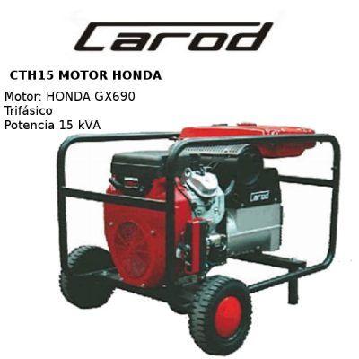 Generador electrico carod cth15ae honda