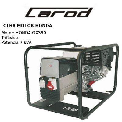 generador electrico carod cth8 honda