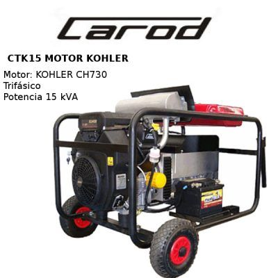 generador electrico carod ctk15 kohler