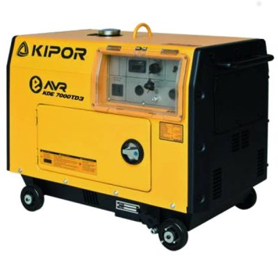 Generador electrico Kipor KD7000TD3